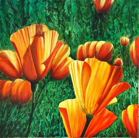 fiori dipinto fiori 2 vendita quadro pittura artlynow