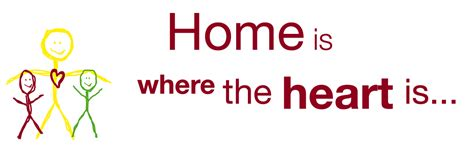home is where the heart is where the heart is quotes quotesgram