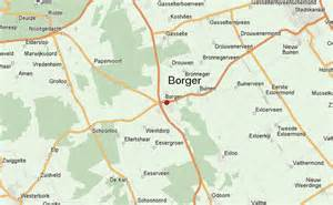 borger map borger stadsgids