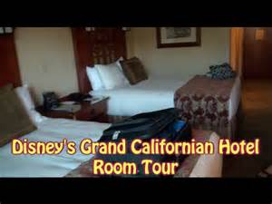 Bedroom Tour Chapter 1 Disney S Grand Californian Hotel Room Tour