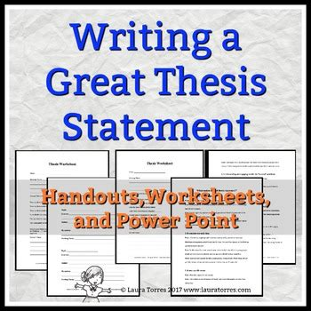 sles of thesis statement thesis statements writing a great thesis by torres