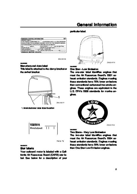 2006 Yamaha Outboard F115 Lf115 Boat Motor Owners Manual
