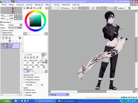 paint tool sai 1 2 0 version paint tool sai version ope