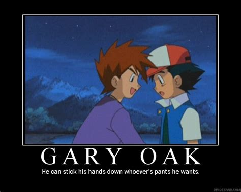 Gary Meme - gary oak pok 233 mon photo 33522644 fanpop