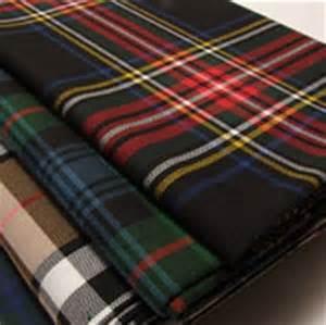 polyviscose fabrics non wool tartan plaids