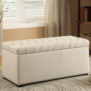 Fabric Storage Bench Avenue Six Sah3917 X14 Tufted Storage Bench In