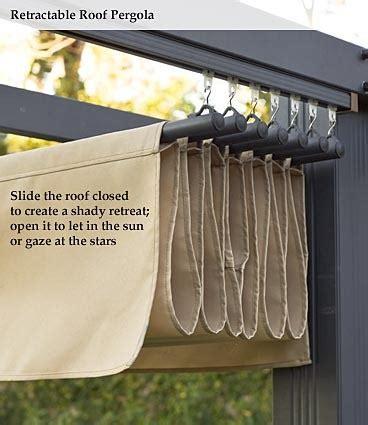 Diy Retractable Awnings diy retractable awning this would just be hung on an