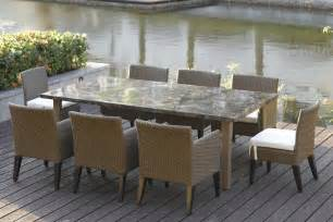 stylish patio furniture dining table patio dining sets