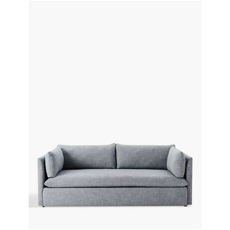 elm shelter sofa review elm shelter 3 seater sofa linen weave at lewis