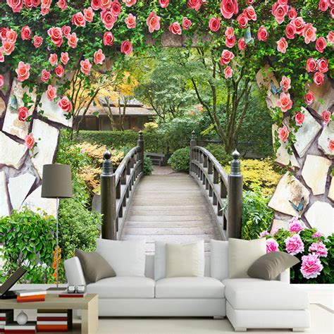 Wholesale Wall Murals online buy wholesale garden wall mural from china garden