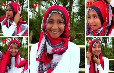 tutorial hijab pashmina satin untuk kuliah tutorial hijab pashmina untuk kuliah yang mudah dan cepat