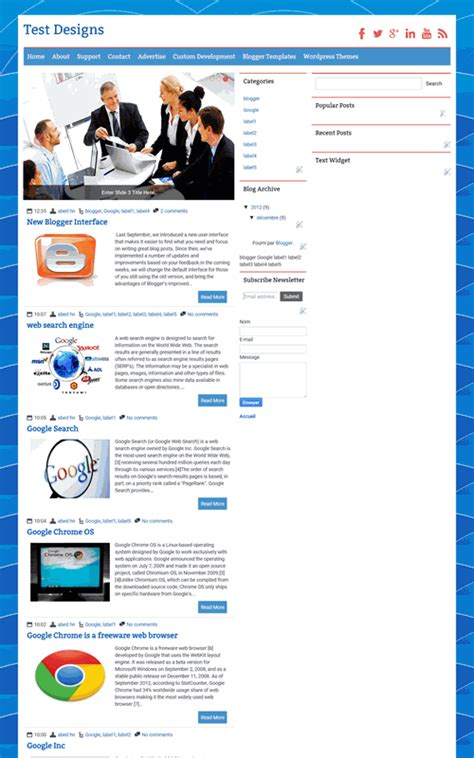 magazine pro nice blogger template the best blogger