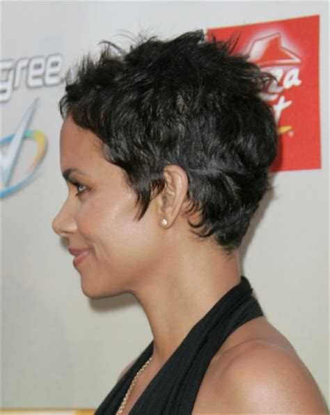 back view of halle berry hair beautiful wallpapers halle berry catwoman hairstyle