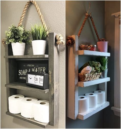 wonderful rustic storage ideas   bathroom