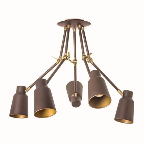 5 Arm Ceiling Light Adjustable Jointed Arm Ceiling Lights