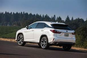 Lexus Rx 250 Once And Future 2016 Lexus Rx 350 And Rx 450h