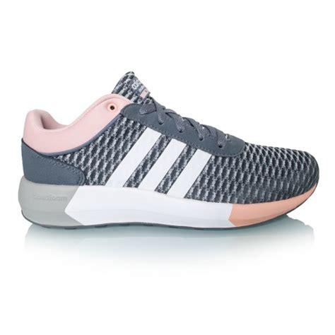 adidas cloudfoam race womens running shoes onyxwhite