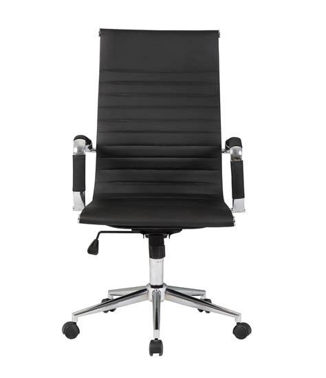 high back executive pu leather ergonomic office desk computer chair ergonomic ribbed pu leather high back executive computer