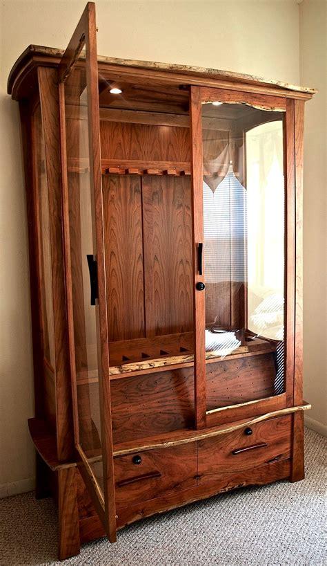 octagon gun cabinet plans   dresser grow box