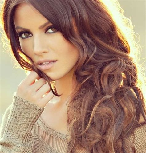 medium brown hair color ideas medium brown with caramel highlights and sultry layers
