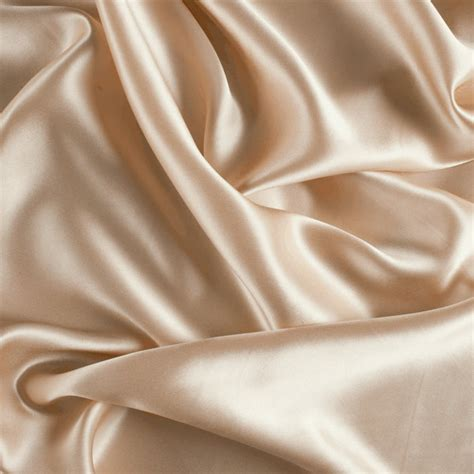 Bed Drape 42 Wide Stretch Silk Charmeuse Champagne By The Yard