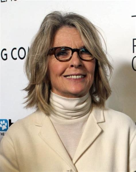 Diane Keaton Hairstyles   Effortlessly Elegant Haircuts