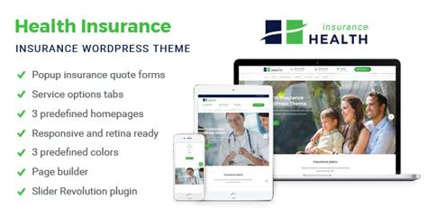 themeforest insurance theme health insurance insurance wordpress theme by