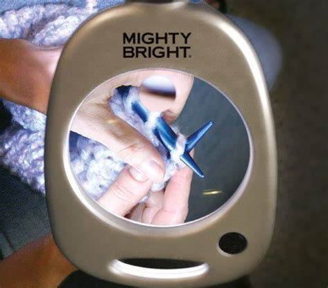 mighty bright craft light with magnifier mighty bright 67112 floor light and magnifier silver
