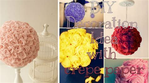with ideas diy eid decoration idea with crepe paper creativeq
