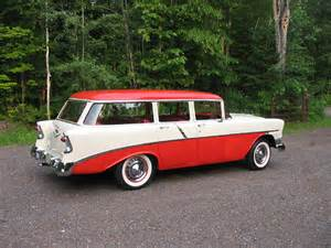 1956 Chevrolet Wagon Object Moved