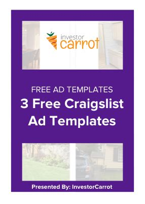 craigslist real estate ad templates real estate marketing 8 tips to find motivated sellers on