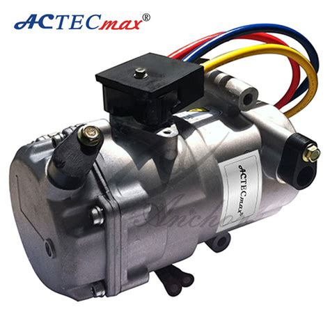 dc air conditioner compressor  cars  electric