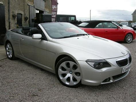 used bmw 6 series 2005 petrol 645ci 2dr convertible