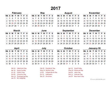 printable calendar 2017 calendar labs excel spreadsheet calendar calendar template 2016