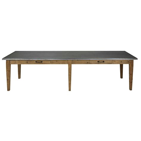 Recycled Dining Tables Recycled Pine Dining Table W 300 Pagnol Maisons Du Monde