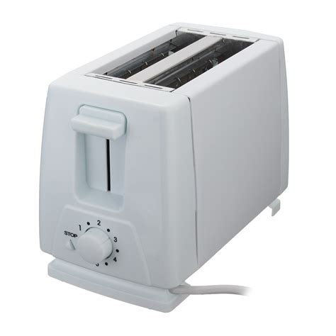 Retro Stainless Steel Toaster 750w Bread Machine Household Automatictoaster 2 Slice