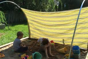 How To Make An Outdoor Canopy Diy Outdoor Canopy My Happy