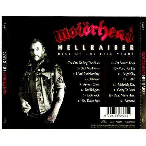 motorhead best of hellraiser best of the epic years mot 246 rhead mp3 buy