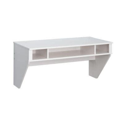 Designer Floating Desk In White Laminate Wehw 0500 1 The White Floating Desk