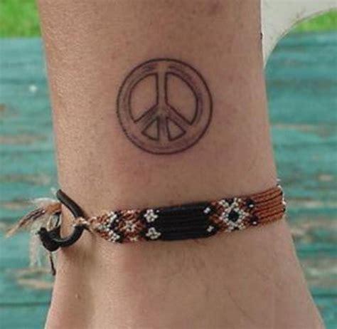 peace sign wrist tattoo peace sign tattoos page 2