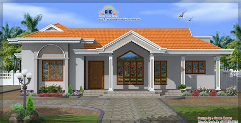 one floor homes october 2011 kerala home design and floor plans