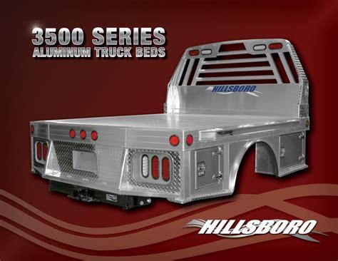 series aluminum truck beds hillsboro trailers  truckbeds