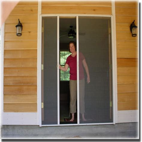 Double French Doors   Sacramento CA   A to Z Screens