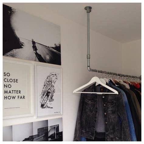 garderobe industrial d i y do it yourself garderobe im quot industrial look