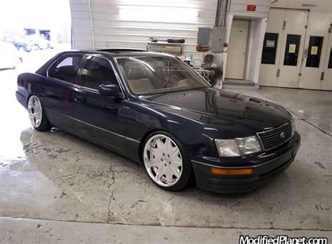 lexus ls400 modified jdm 1998 lexus ls400 with 19 quot work varianza wheels