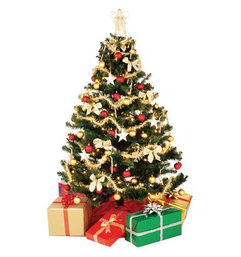 christmas tree  presents png image purepng