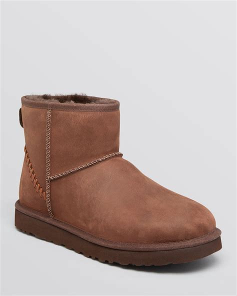 ugg boots for ugg ugg 174 australia classic mini deco leather boots in