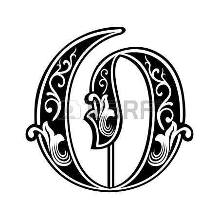 lettere alfabeto stile gotico decorazione alfabeti inglesi in stile gotico