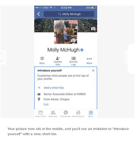 biography for facebook profile how to turn your facebook profile picture into a gif 6 pics