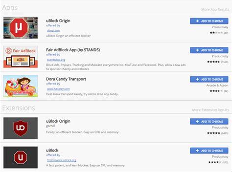 chrome ublock google chrome s web store highlighting malicious apps